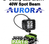 AURORA-DUALLY-2-D2-40W-Spot-Beam-10w-LEDs-Light-Bar-4x4-Suit-Offroad-Camping1