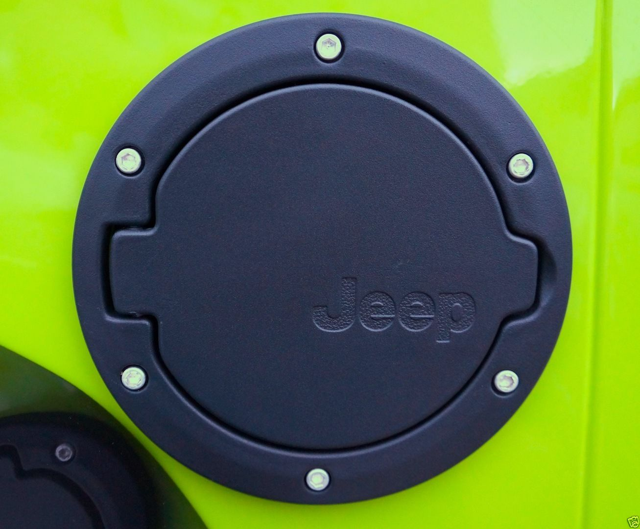 Jeep Wrangler Fuel Filler Cap Black Powdercoated for 07-14 ...