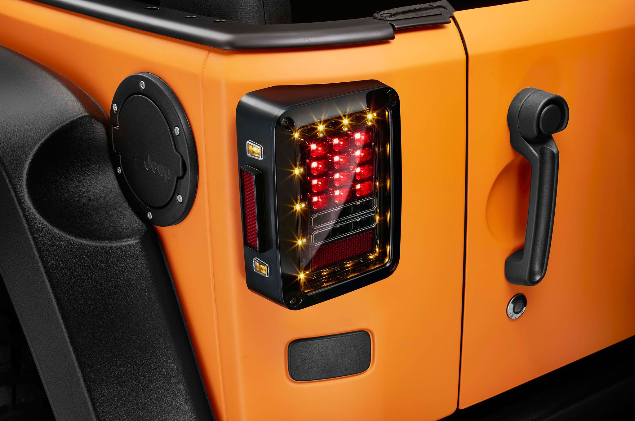 Jeep Wrangler 5TH GENERATION JK LED Tail Light Set