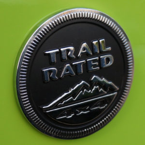 jeep trail rated 4x4 badge emblem mopar oem yj cj jk tj wrangler wj wk cherokee 1942 2015. Black Bedroom Furniture Sets. Home Design Ideas