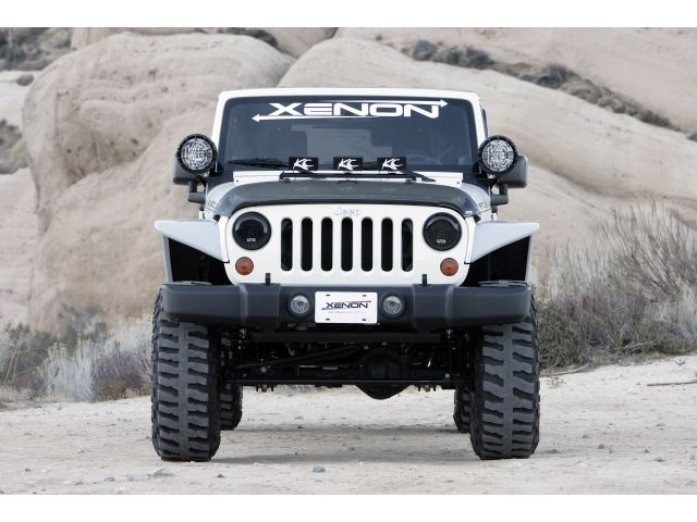 Xenon Flat Fender Style Flare Kit For 07 15 Jeep 174 Jk