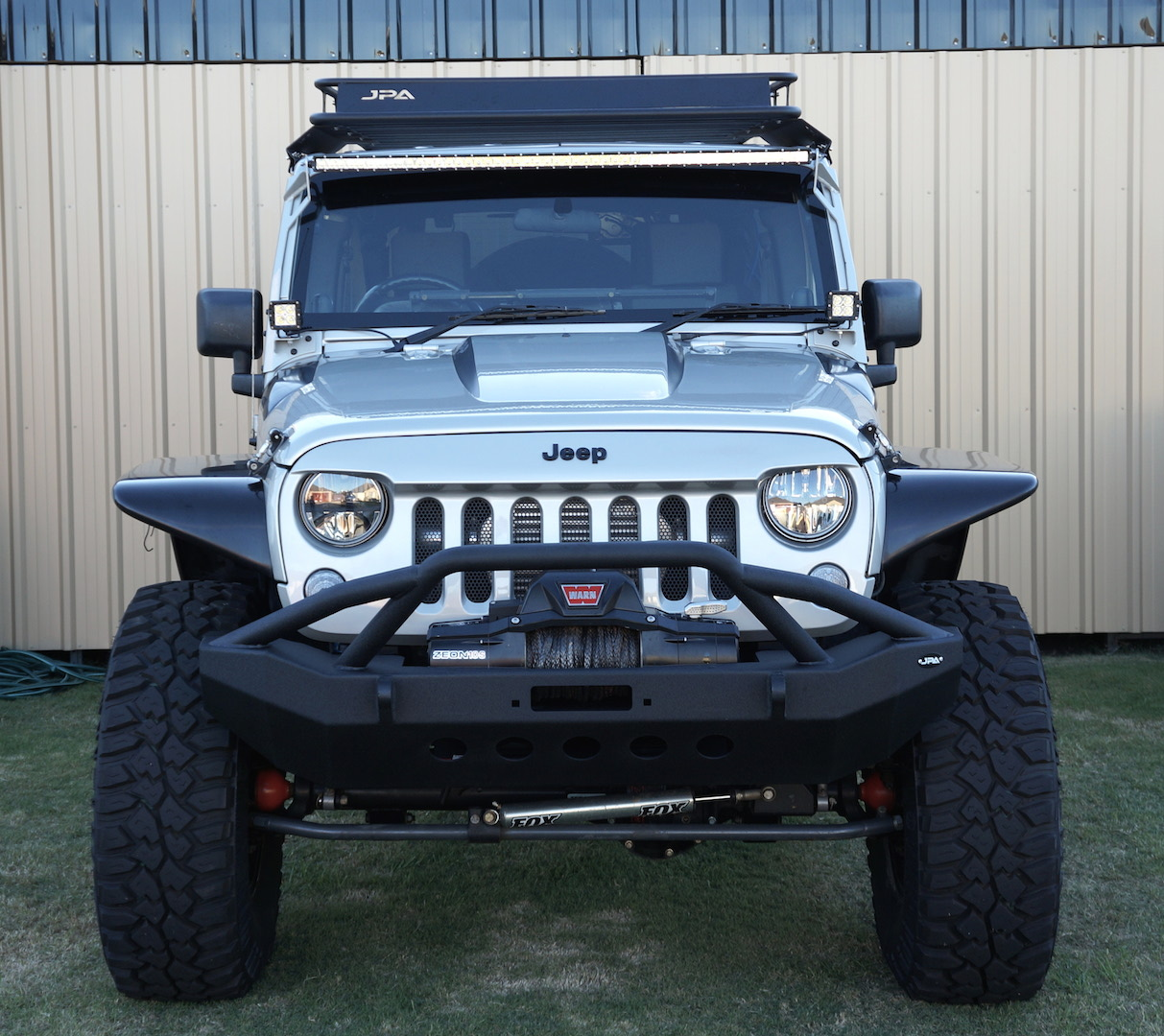 2015 JK Wrangler 4 door Unlimited Contour Roof Rack System ...