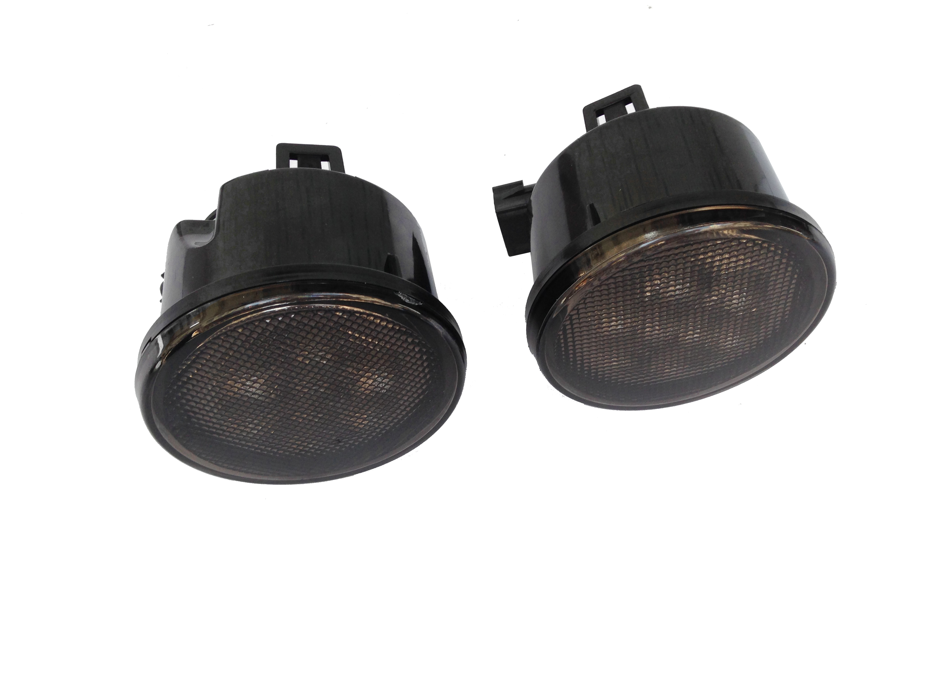 jeep jk 07 smoked led front indicators for grill. Cars Review. Best American Auto & Cars Review