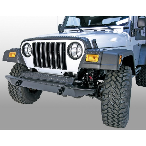Rugged Ridge Front Fender Guards Body Armor 97 06 Jeep