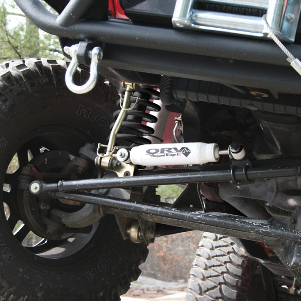 orv by rugged ridge steering stabilizer 07 16 jeep. Cars Review. Best American Auto & Cars Review