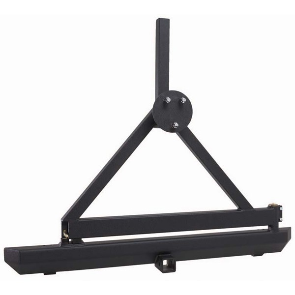 Rugged Ridge Rock Crawler Rear Bumper Tire Carrier 87 06