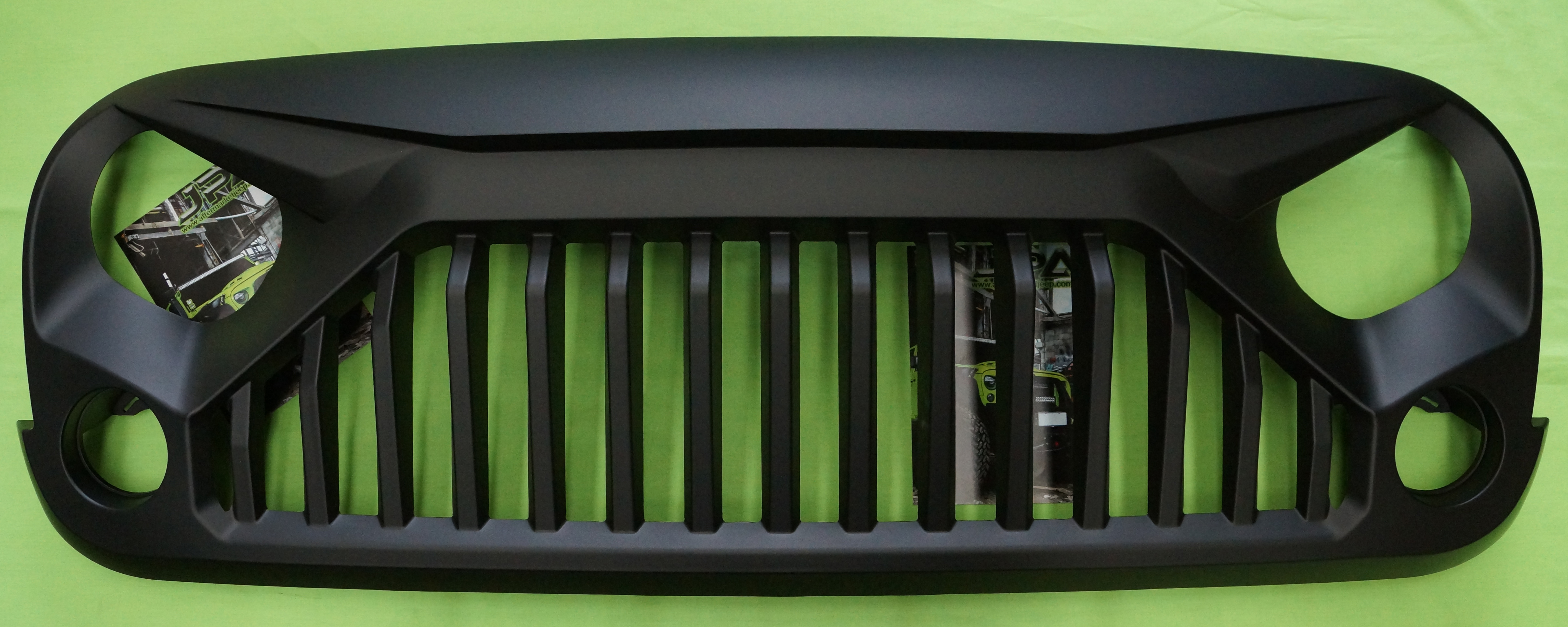 Jeep Wrangler Stormtrooper Angry Grill Grille For Jk