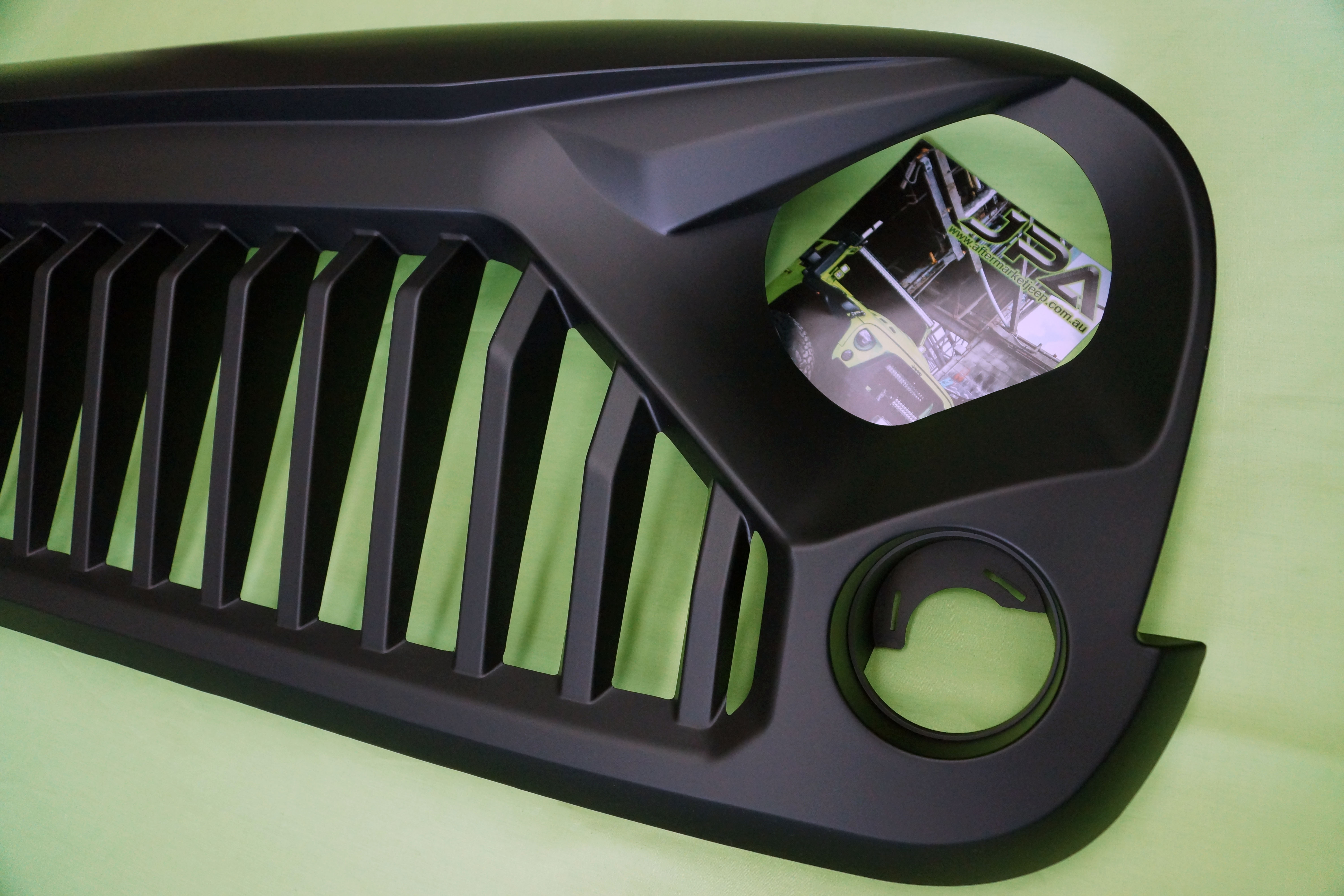 Jeep Wrangler Seat Covers >> Jeep Wrangler Stormtrooper Angry Grill / Grille for JK WRANGLER 07-17 | Aftermarket Jeep Parts ...