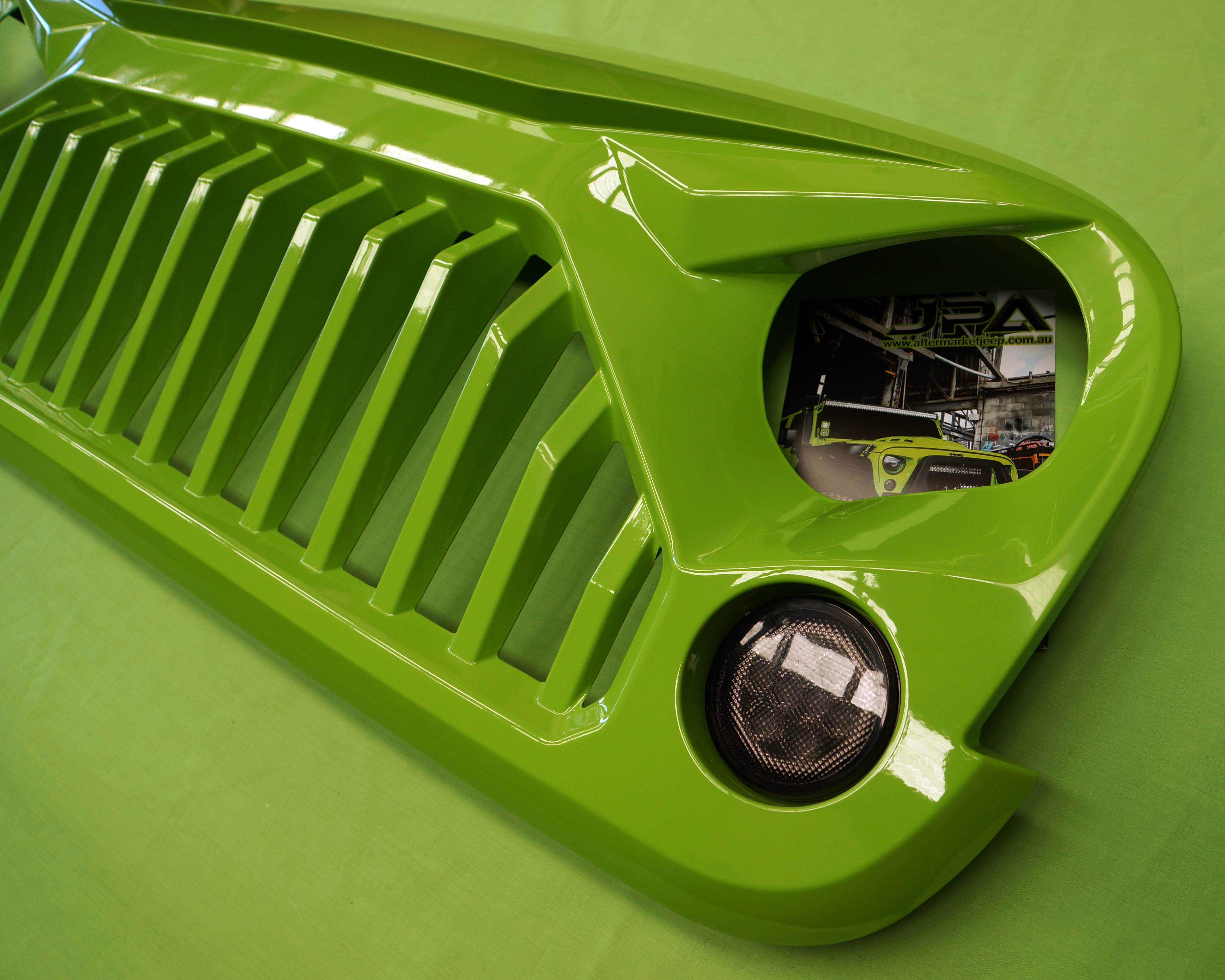 Jeep Wrangler Stormtrooper Angry Grill / Grille for JK ...
