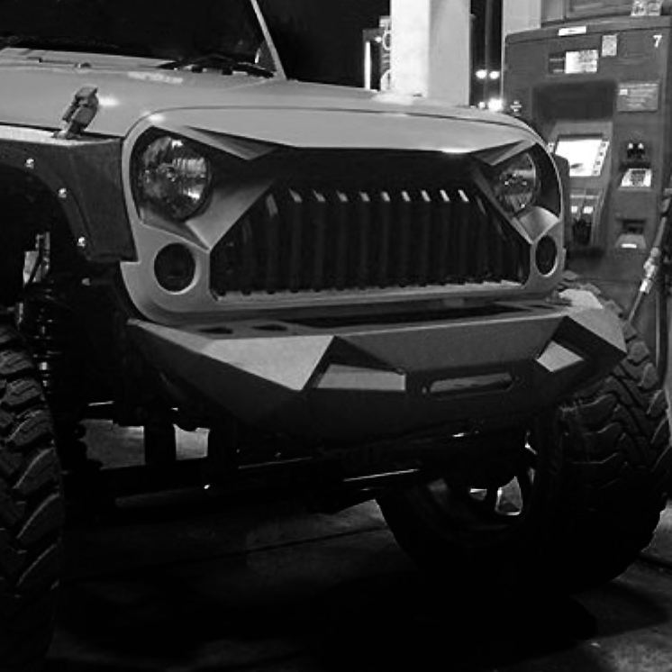 Jeep Cherokee Aftermarket Bumpers >> JPA Stealth Stubby front bumper for JK Wrangler 2007+ | Aftermarket Jeep Parts Australia