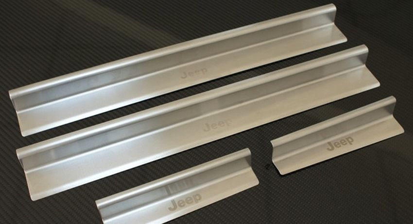 2007-2014 Jeep Wrangler JK Stainless Steel Sill Guards