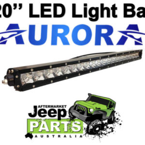 AURORA 20 LED LIGHT BAR 9800 Lumens 100 WATT 20 X 5W OSLON CHIPS COMBO BEAM
