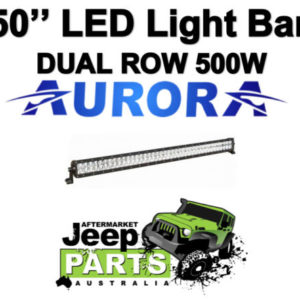 AURORA 50 DOUBLE ROW LED LIGHT BAR 28000 Lumens 500W 100 X 5W OSLON COMBO BEAM