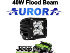 Flood Beam 10w LEDs, Light Bar