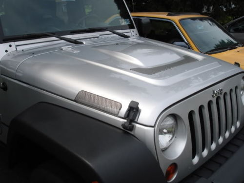 Wrangler Bonnet/Hood AEV Heat Reduction, Unpainted, for 07 ...