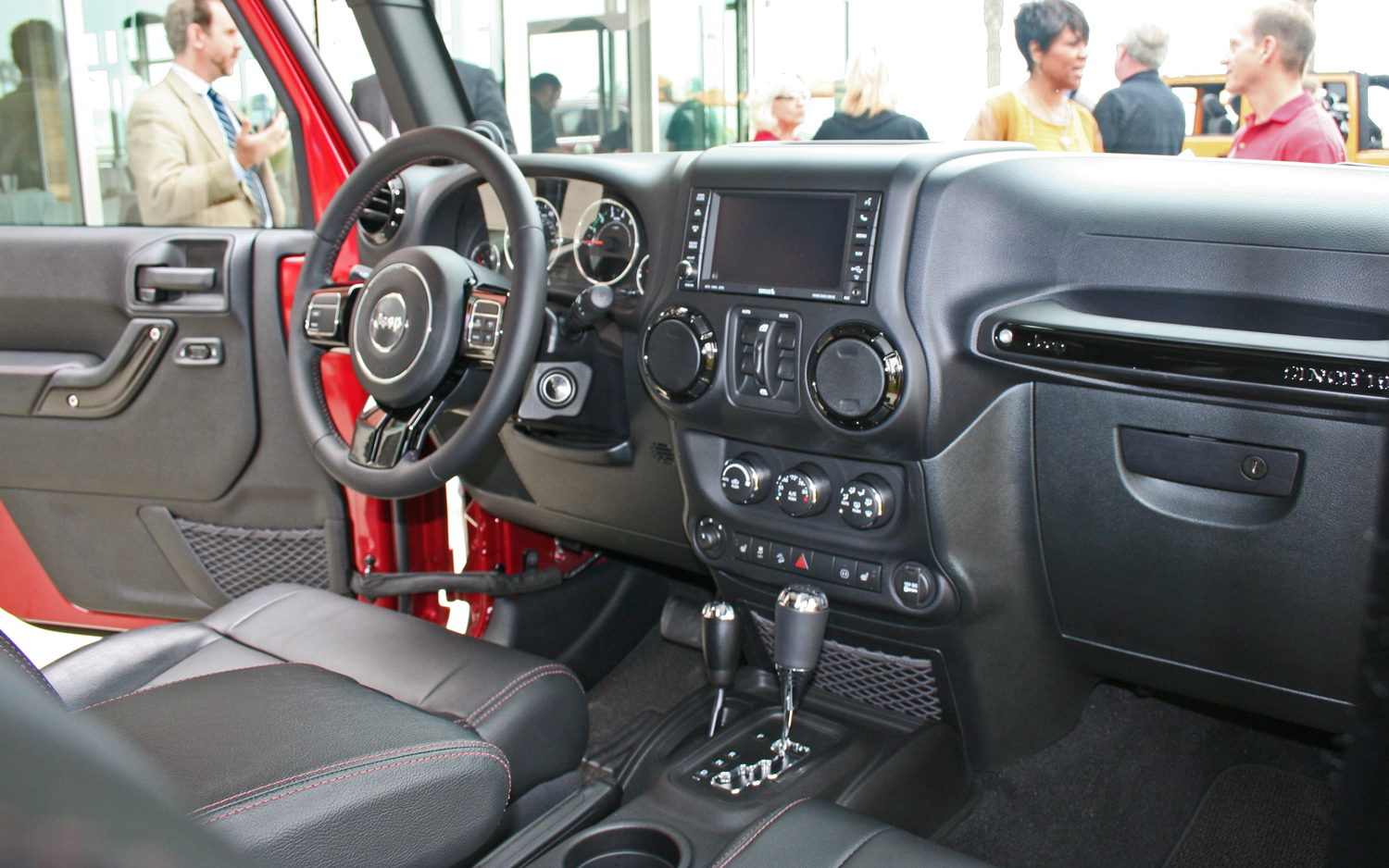 Delightful Black Gloss 2012 Jeep Wrangler Unlimited Altitude Interior Idea