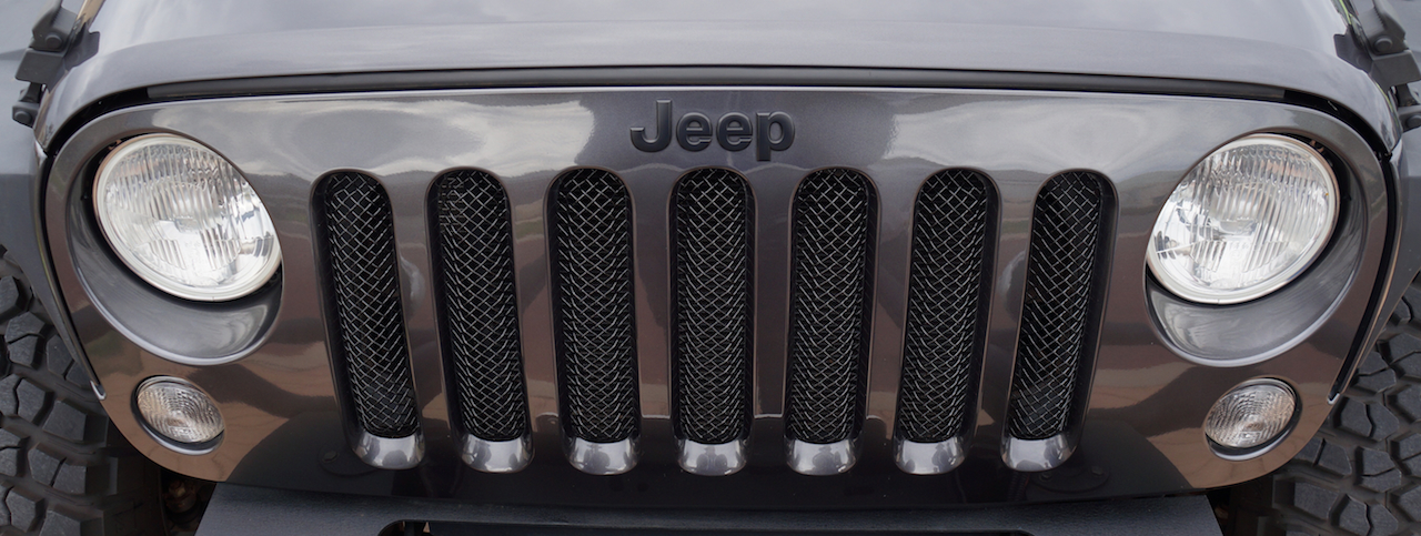 Aftermarket Jeep Parts >> Jeep Wrangler Black 3D Mesh Grill Grille Insert Cover Guard No Hole 2007-2014 | Aftermarket Jeep ...