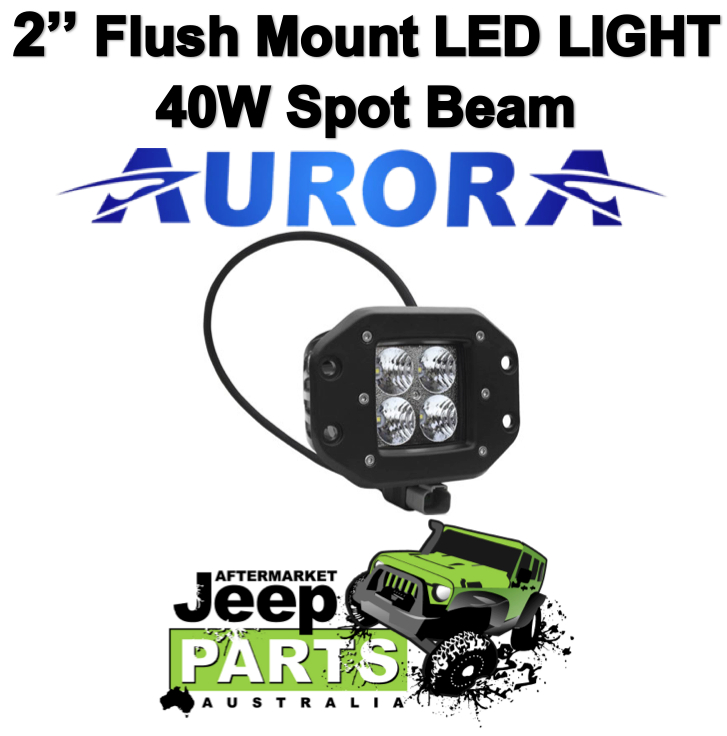 40w flush led ad