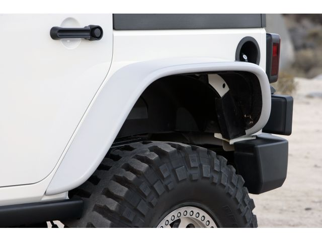 Xenon Flat Fender Style Flare Kit For 07-15 Jeep® JK ...