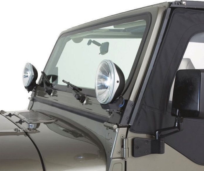 Jeep Grand Cherokee 7 Seat >> CJ7 CJ8 CJ Windshield pillar light mounts for Jeep CJ | Aftermarket Jeep Parts Australia