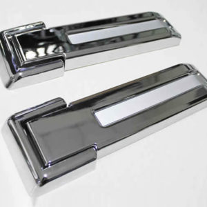 Chrome rear door hinge cover CU