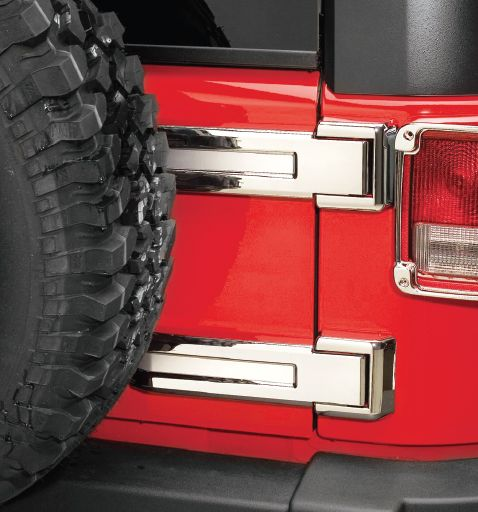 Chrome Jeep Wrangler Jk Jku 07 Amp Boot Door Hinge Covers