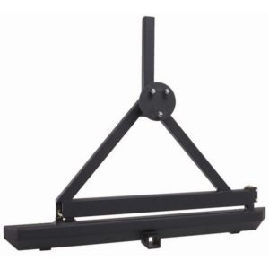 Rock Crawler Rear Bumper:Tire Carrier, Hitch; 87-06 Wrangler YJ:TJ