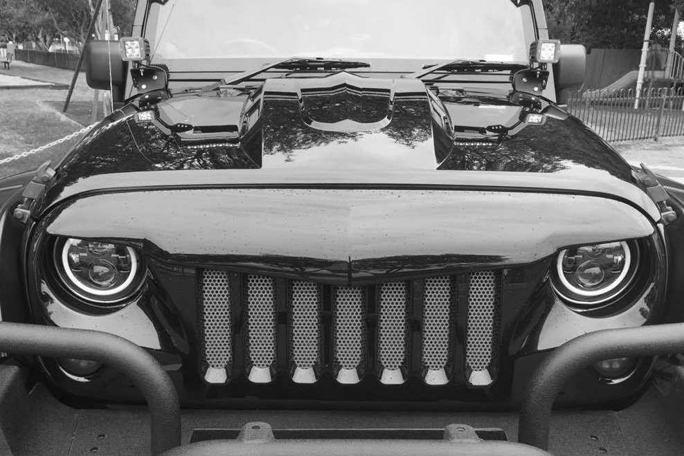 Jeep Wrangler Warrior Angry Grill / Grille for JK WRANGLER ...