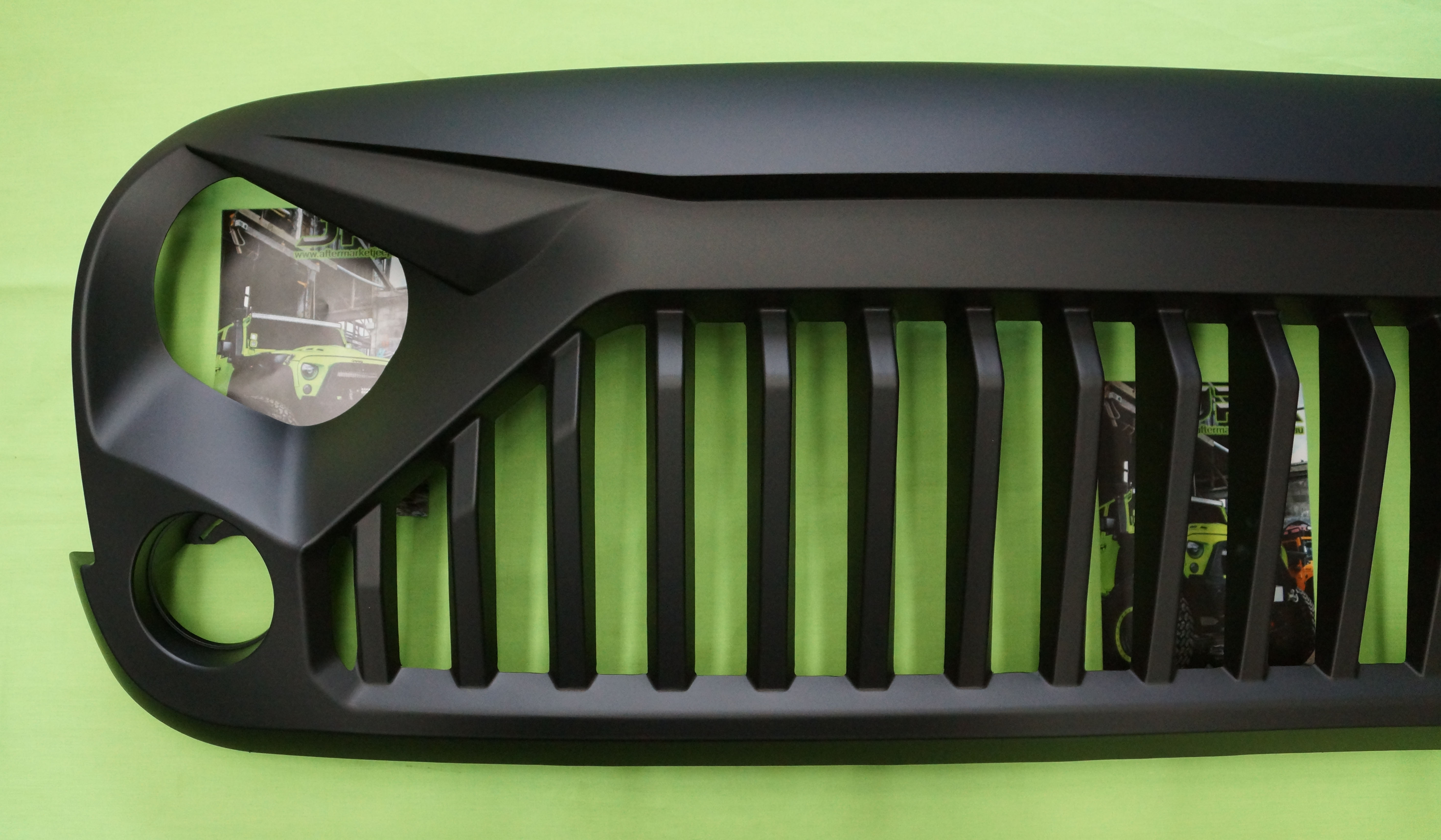 Jeep Cj7 Parts >> Jeep Wrangler Stormtrooper Angry Grill / Grille for JK WRANGLER 07+ | Aftermarket Jeep Parts ...
