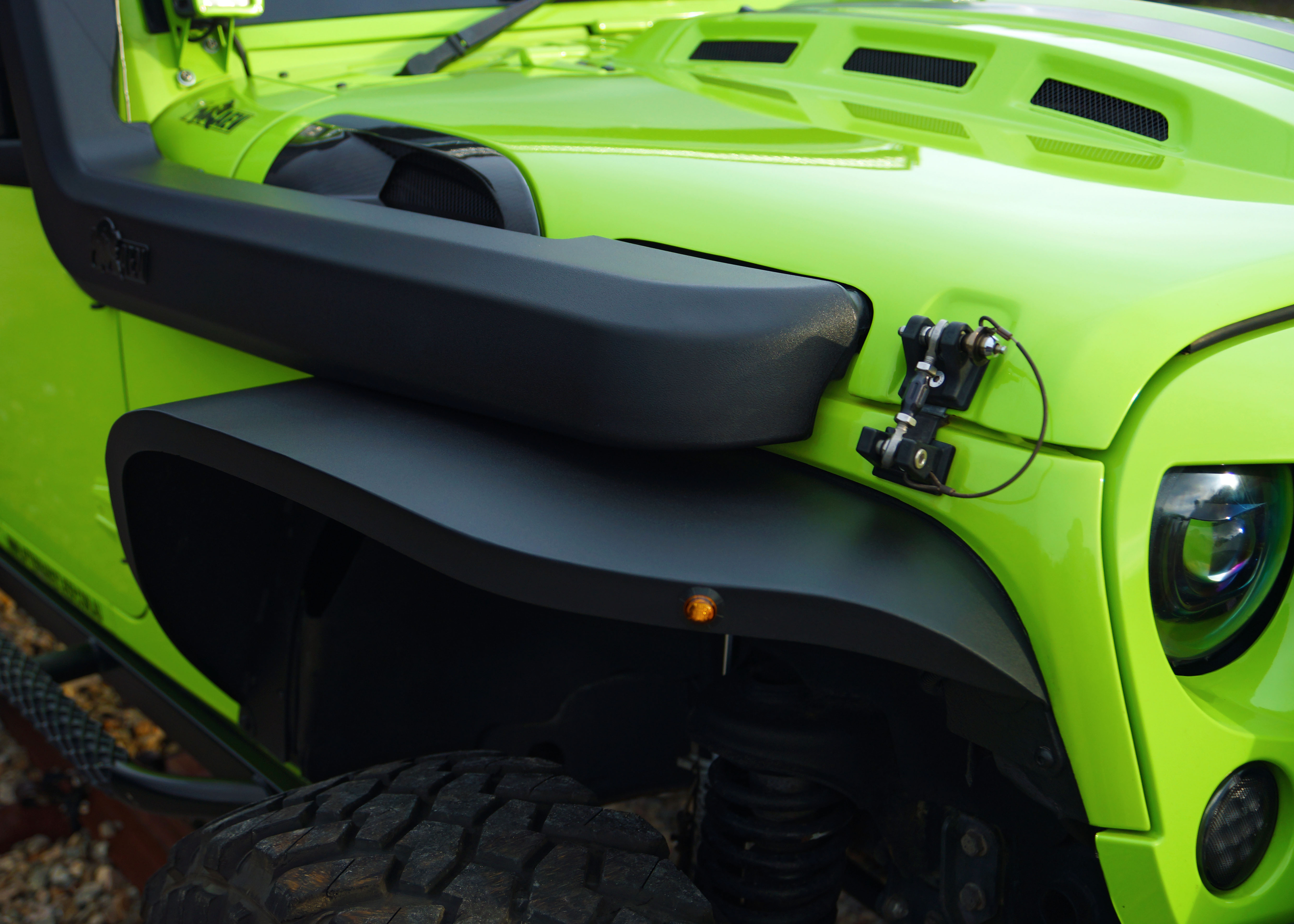 Jeep Wrangler Fenders >> Jpa 1 5 Inch Wider Aluminium Pro Series Wider Fender Flares To Suit
