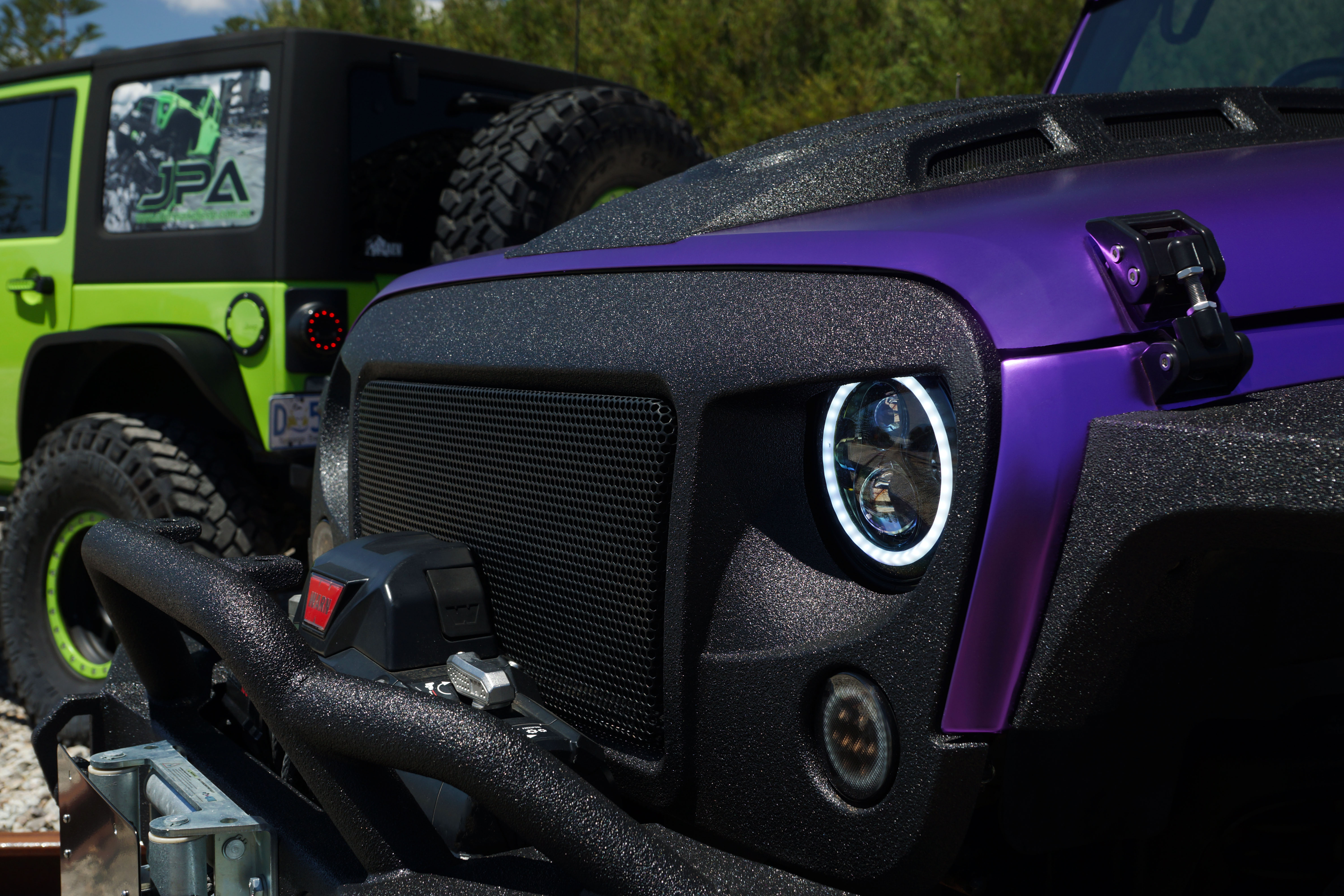 Aftermarket Jeep Parts Australia Wrangler Front Suspension Diagram Jk The New Jpa High Flow Carbon Series Angry Grill For 07 Increases Air Intake